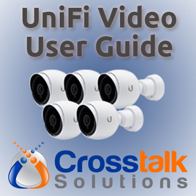 UniFi Video User Guide